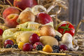 Fruits And Vegetables Royalty Free Stock Photos - 81451458