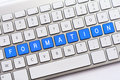 FORMATION Writing On White Keyboard Royalty Free Stock Photography - 81453297