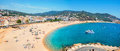 Tossa De Mar Beach. Costa Brava, Catalonia, Spain Royalty Free Stock Photos - 81492788