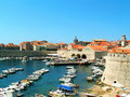 Dubrovnik Harbour Stock Photos - 8154073