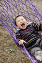 Boy In Hammock Royalty Free Stock Image - 8158766