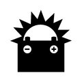Battery Car Isolated Icon Royalty Free Stock Photography - 81522657