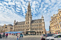 BRUSSELS, BELGIUM - JULY 07, 2016 : City S Town Hall On Grand Pl Royalty Free Stock Image - 81573406