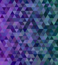Abstract Triangle Mosaic Tile Background Royalty Free Stock Photo - 81598115