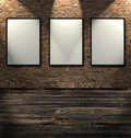 Three Empty Frames Stock Photo - 8169250