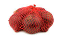 Red Onions In A Red Plastic Net Royalty Free Stock Photography - 81637827