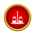 Pepper And Salt Icon In Simple Style Royalty Free Stock Photography - 81679437