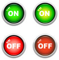 On / Off Buttons Royalty Free Stock Photo - 8177765