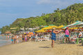 People At Beach In Pipa, Brazil Stock Photos - 81710653
