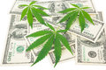 The Cannabis And Money Stock Image - 81712511