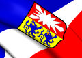 Flag Of Schleswig-Holstein, Germany. Stock Images - 81725264