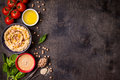 Hummus Background Royalty Free Stock Photography - 81733117