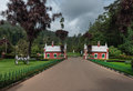 Heritage Gate At Ooty Botanical Garden. Royalty Free Stock Images - 81741749