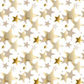 Gold Star Luxury Pastel Color Seamless Pattern. Royalty Free Stock Photography - 81765257