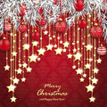 Merry Christmas Ornaments Baubles Twigs Royalty Free Stock Photos - 81794898