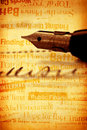 Pen With Book Stock Photo - 8188060