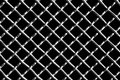 Metal Grid On Black Background Stock Photography - 81802032