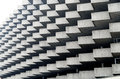 Detail Of Zig-zag Architecture Of Parking Building In Lugano, Switzerland Stock Image - 81819381