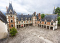 View On Blois Castle Royalty Free Stock Photo - 81854195
