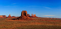 Monument Valley Panorama Stock Image - 81856661