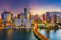 Miami, Florida, Skyline Royalty Free Stock Photos - 81874658