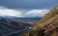 Late Winter Landscape Of The Upper Missouri River In Montana Stock Photos - 81883903