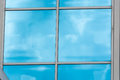 Glass Building Facade With Reflections Royalty Free Stock Images - 81885219