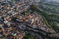 Zagreb Upper Town From Air Royalty Free Stock Photography - 81895497