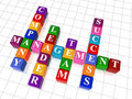 Crossword 19 - Management Royalty Free Stock Photography - 8191327