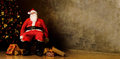 Tired Santa Claus Stock Photography - 81903542