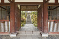 Entrance To Japanese Garden Royalty Free Stock Photo - 81906655