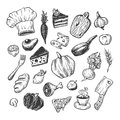 Cooking And Kitchen Tools. Set. Royalty Free Stock Photography - 81907437