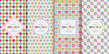 Bright Colorful Seamless Patterns For Baby Style Royalty Free Stock Photo - 81932055