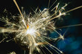 Christmas And New Year Party Sparkler With Abstract Circular Bokeh Background Christmas Lights Royalty Free Stock Photos - 81957778