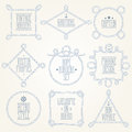 Nautical Rope Borders Royalty Free Stock Photography - 81978697