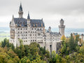 Neuschwanstein Castle Under Cloudy Sky Royalty Free Stock Photo - 82055785