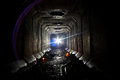 Underground Abandoned Sewer Collector Tunnel Under Voronezh Stock Images - 82095644
