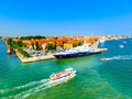 Venice, Italy - June 06, 2015: Cruise Port Royalty Free Stock Image - 82107486