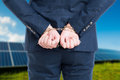 Illegal Or Corruption Concept With Hands In Chains Stock Photos - 82124473