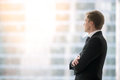 Confident Businessman Waiting For The Meeting Stock Images - 82128014
