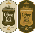 Label For Olive Oil Royalty Free Stock Images - 82138649