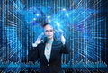 The Data Mining Concept With Businesswoman Stock Photos - 82140743