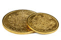 Danish Gold Coins Royalty Free Stock Images - 82154959