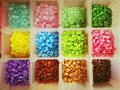 Multicolored Plastic Beads Stock Photography - 82160912