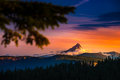 Mt Thielsen At Sunrise Oregon Landscape Royalty Free Stock Photo - 82174365
