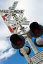 Railroad Crossing Royalty Free Stock Photography - 8225487