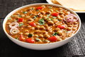 Ndian Cuisine-spicy Chick Peas Chola Masala Royalty Free Stock Photo - 82220875