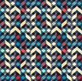 Multicolor Chevron Style Seamless Pattern. Arrows Texture. Stock Photography - 82239512