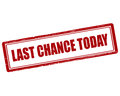 Last Chance Today Stock Photography - 82296032