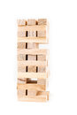 Tower Of Wooden Game Pieces Royalty Free Stock Image - 82313406